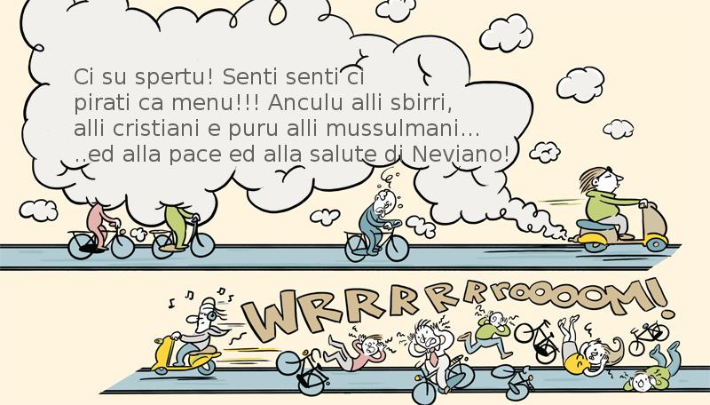 A Neviano scooter scorreggioni per tutte le stagioni